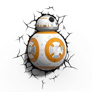 Veilleuse LED 3D Light FX Droid BB-8 Star Wars 30 cm