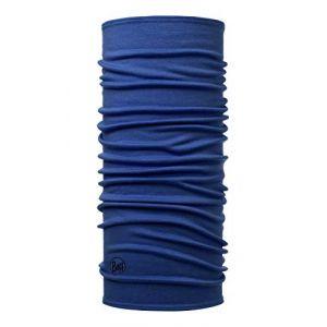 Buff 113023.730.10.00 Tour de Cou Mixte Adulte, Bleu (Solid Estate Blue), FR