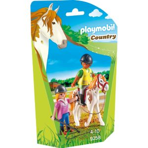 Image de Playmobil 9258 Country - Monitrice d'équitation