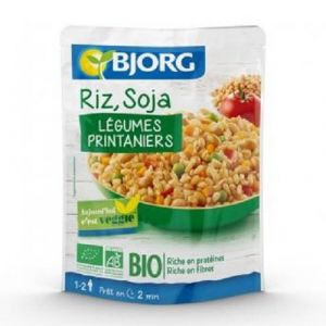 Bjorg Riz soja aux legumes Bio