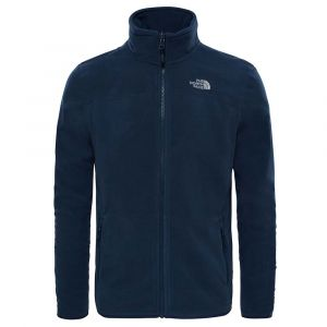 The North Face Polaire MEN?S 100 GLACIER FULL ZIP bleu - Taille XXL,S,M,L,XL