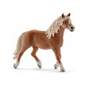 Schleich 13813 - Figurine cheval Étalon Haflinger