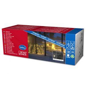Konstsmide 4323-100 - Filet de lumière pour l'extérieur 24 V LED blanc chaud (150 x 320 cm)