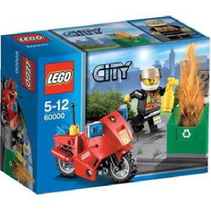 Lego 60000 - City : La moto des pompiers