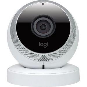 Logitech Circle - Caméra Portable Wi-Fi avec fonction Talkie-walkie et Surveillance