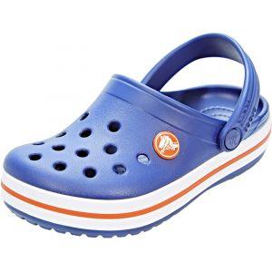 Crocs Crocband Clog Kids, Sabots Mixte Enfant, Bleu (Cerulean Blue), 27-28 EU