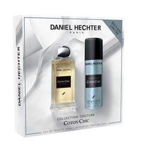 Daniel Hechter Ecrin Eau de toilette Couture Coton Chic 100 ml + Déodorant 150 ml