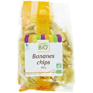 Jardin Bio Bananes chips