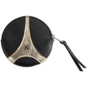 Kesslord Karoneiffel karon - Porte monnaie en cuir - noir