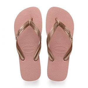 Havaianas Women´s Top Tiras - Sandales de marche taille 41/42, beige