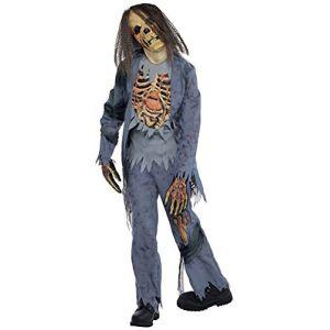 Amscan Déguisement zombie squelette