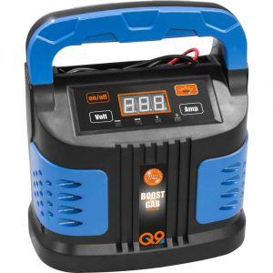 Güde GAB 12V/6V-10A Boost 85142 Chargeur automatique, Contrôleur de batterie, Chargeur, Booster de tension de charge, Système de démarrage rapide 6 V, 12 V 5