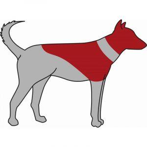 Trixie Collier de protection gonflable - S-M - Bleu - Pour chien