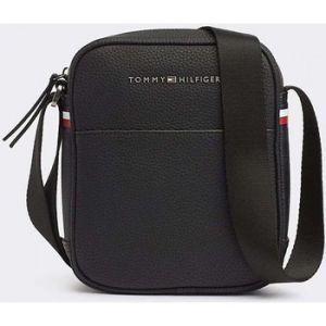 Tommy Hilfiger Essential Mini Reporter, Sacs portés épaule homme, Noir (Black),