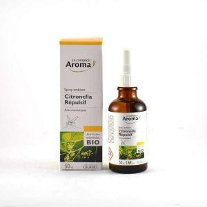 Le comptoir Aroma Spray répulsif Citronella