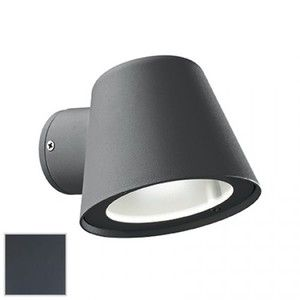 Ideal lux Applique extérieure design Gas Gris anthracite Aluminium 091525
