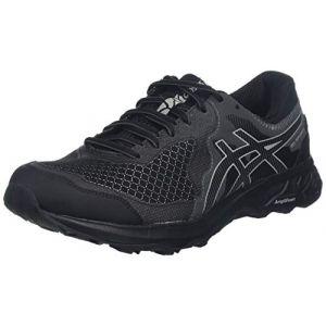 Asics Gel-Sonoma 4 G-TX, Chaussures de Running Compétition Homme, Multicolore (Black/Stone Grey 001), 44.5 EU