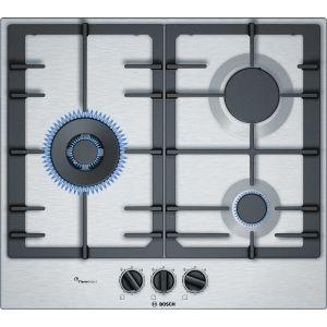 Bosch PCC6A5B90 - Table de cuisson gaz 3 foyers
