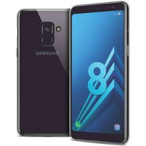 CaseInk Coque Samsung Galaxy A8 (2018) A530 (5.6 ) Souple Extra fine 1mm