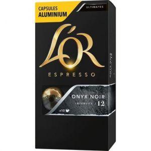 L'OR Espresso Café Alu Onyx Noir