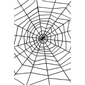 Décoration Halloween : toile d'araignée