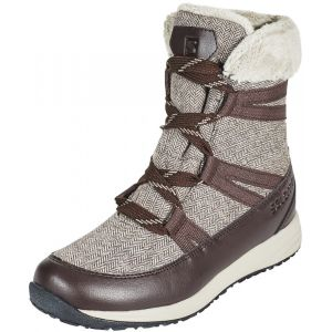 Salomon Chaussures après-ski Heika Cs Wp - Black Coffee / Cinder - Taille EU 40
