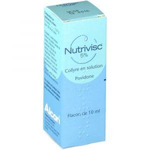 Alcon Nutrivisc 5% - 10 ml COLLYRE