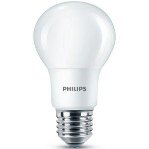 Philips Ampoule led strandard 8-60w E27 dépolie blanc chaud - L'unité