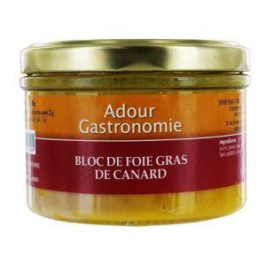 Adour Gastronomie Bloc de Foie Gras de Canard - Bocal 190g