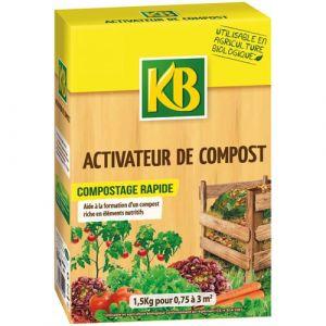 KB Activateur compost - granules - 1.5 Kg - Engrais, Fertilisant