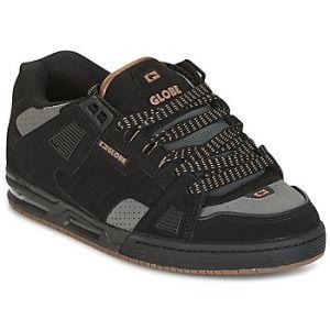 Globe Sabre, Chaussures de Skateboard Homme, Noir (Black/Charcoal/Woodsmoke Brown), 48 EU