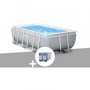 Intex Kit piscine tubulaire Prism Frame rectangulaire 3,00 x 1,75 x 0,80 m + 6 cartouches de filtration