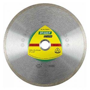 Klingspor Disque diamant SUPRA DT 600 F D. 115 x 1,6 x Ht.7 x 22,23 mm - Grès cérame / Faïence / Carrelage -325368
