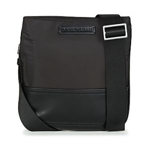 Emporio Armani Sacoche OMNIA FLAT MESSENGER BAG Noir - Taille Unique
