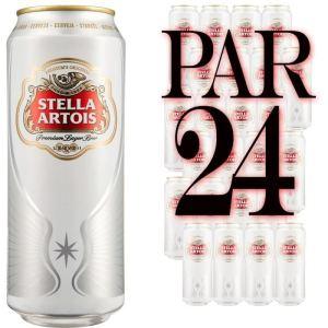 Stella Artois Bière blonde (24 x 50 cl) 5.2°
