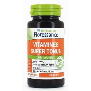 Floressance Vitamines Super Tonus - 60 gélules