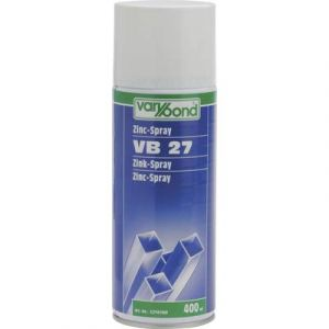 Varybond Zinc spray foncé 400 ml VB 27