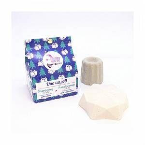 Lamazuna Duo au Poil - Shampoing Solide et Pain de Rasage