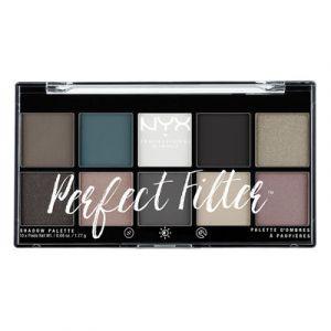 NYX Cosmetics Professional Makeup - Perfect Filter Shadow Palette d'ombres à paupières