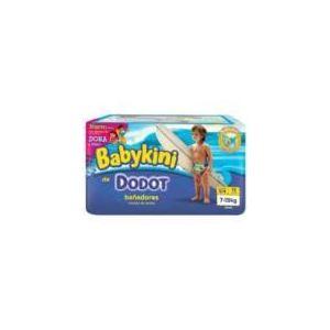 Dodot Couche Babykini taille 3/4 (7-15 kg) - paquet de 12