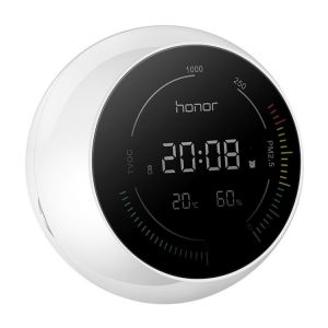 Honor Bluetooth 4.2 Smart PM2.5 Détecteur blanc de Moniteur de Particules de Qualité de L'Air, Soutien Android / iOS Système Glace Cristal