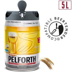 Pelforth Fût de bière Blonde - Compatible Beertender - 5 L