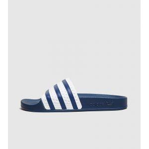 Adidas Adilette, Chaussures de Plage & Piscine homme - Bleu (Adiblue/White/Adiblue), 37 EU (4 UK)