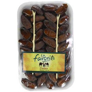 La Favorite Datte Deglet Nour Ravier 500 g - Lot de 6