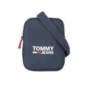 Image de Tommy Jeans Sacoche bandoulière zippée Cool City en toile bleu marine
