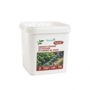 Engrais légumes du potager & pdt 3 Kg botanic®