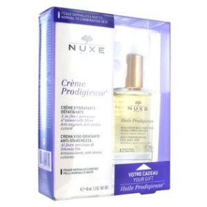 Nuxe Coffret crème prodigieuse enrichie 40 ml + huile prodigieuse 30 ml