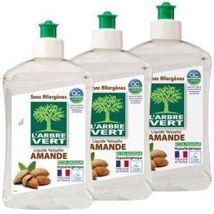 L'Arbre Vert Liquide vaisselle & mains concentré Amande