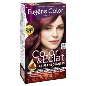 Eugène Color Color & Eclat les flamboyantes n°66 rouge profond