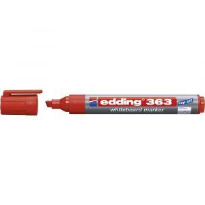 Edding Marqueur tableau blanc 363 rouge 4-363002